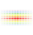 cabin spectral halftone matrix vector image