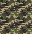 Camouflage pattern background seamless vector image vector image