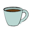coffee cup isolated vector image vector image