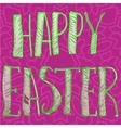 Happy Easter Letters Print vector image vector image