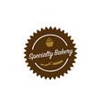 specialty-bakery-logo vector image