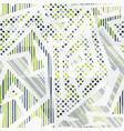 Tech geometric seamless pattern