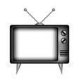 tv sign icon vector image