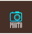 vintage with a camera icon vector image vector image