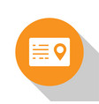 white address book icon isolated on
