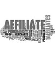 a unique opportunity for affiliate recruiters vector image vector image