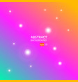 abstract background with green pink and orange vector image vector image