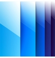 Abstract blue shining rectangle shapes background vector image vector image