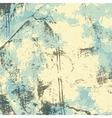 Blue gray beige grunge background vector image