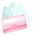cosmetic paper vector image