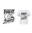 deer hunting club t-shirt print mockup forest hunt vector image vector image