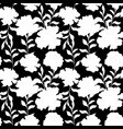floral seamless pattern with vintage peony flowers vector image