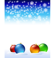 new years decorations vector image vector image