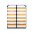slats bed frame vector image vector image