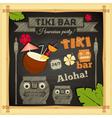 Tiki Bar vector image vector image