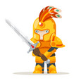 warlord greatsword two-handed sword fantasy vector image vector image