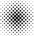 Abstract black and white octagon pattern vector image vector image