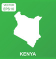 kenya map icon business concept kenya pictogram vector image