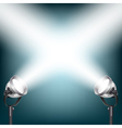 spot lights vector image