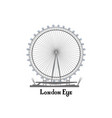 travel london city famous place english landmark vector image vector image