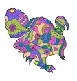 Colorful turkey vector image vector image