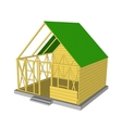 Ecology green house vector image vector image
