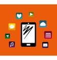 Mobile app technology vector image vector image