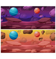 set space background vector image vector image