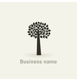 Sign a tree vector image vector image