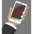 smart phone vector image vector image