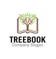 Tree Book Design vector image