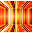 Abstract red orange and yellow retro stripes vector image vector image