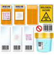 Archival Biopsy Complete Set vector image vector image