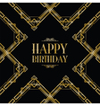 happy birthday gatsby vector image vector image