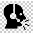 operator message icon vector image