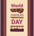 World Chocolate Day vector image