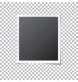 Paper Photo Frame Isolated vector image