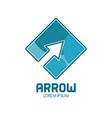 arrow abstract symbol vector image