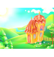 colorful nature and home vector image vector image