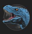 dinosaur t-rex head artwork