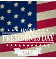 Presidents Day Sale Presidents Day Presidents Day vector image