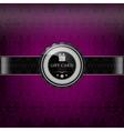 Purple retro paper vector image vector image