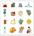 Sewing Icons Set vector image vector image