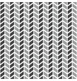 tile pattern with grey arrows on white background vector image vector image