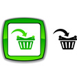 Buy button vector image vector image