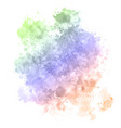detailed watercolour texture background vector image vector image