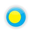 Palau icon circle vector image vector image