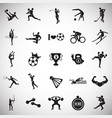 sport disciplines set on white background vector image vector image