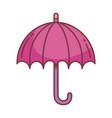 umbrella hello autumn design icon vector image