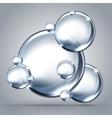 beautiful bubbles of soap 2014 b vector image vector image